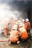 безопасность Малайзии пожара дня осведомленности Стоковое фото RF
