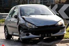 Прифронтовая авария Стоковая Фотография RF