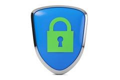 Безопасность пароля иллюстрация вектора