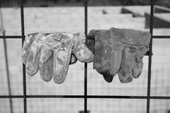 безопасность перчаток Стоковое Изображение RF
