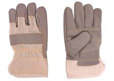 безопасность перчаток Стоковое Изображение