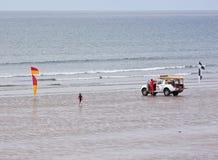 безопасность пляжа Стоковые Изображения