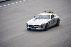 безопасность Формула-1 автомобиля Стоковые Изображения
