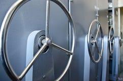 безопасность хранилища принципиальной схемы коробок банка Стоковые Фотографии RF