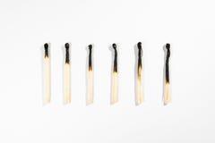 Безопасность Backg символа огня детали макроса ручки спички изолированное белизной Стоковое Изображение
