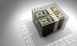 Безопасные деньги Стоковые Фотографии RF