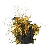 Безопасный взрыв Включенный путь Улучшите для рекламировать модели сохраньте в днях продаж Стоковые Фото