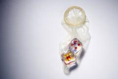 безопасный секс Стоковое Фото