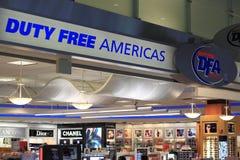 Безпошлинный магазин Стоковая Фотография RF