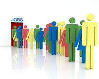 Безработица Стоковые Изображения