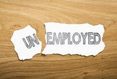 безработные Стоковые Фотографии RF