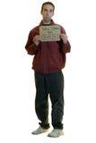 безработный человек Стоковое Фото