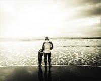 Безусловная любовь морем стоковая фотография rf