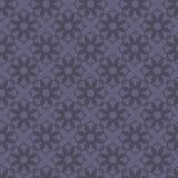 Безшовная абстрактная винтажная темная фиолетовая серая картина иллюстрация вектора