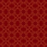 Безшовная абстрактная винтажная темнота - красная картина иллюстрация штока