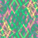Безшовная абстрактная геометрическая декоративная предпосылка Стоковые Фото