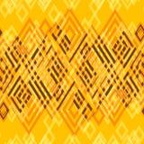 Безшовная абстрактная геометрическая декоративная предпосылка Стоковое Фото