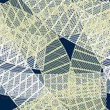 Безшовная абстрактная геометрическая картина Стоковое Фото