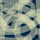Безшовная абстрактная геометрическая картина Стоковые Изображения RF
