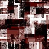 Безшовная абстрактная геометрическая полигональная картина Стоковое Изображение