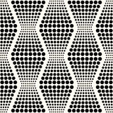 Безшовная абстрактная геометрическая предпосылка точек Стоковое фото RF