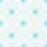 Безшовная абстрактная картина предпосылки с орнаментом guilloche Стоковая Фотография RF