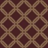 Безшовная абстрактная картина с восьмиугольниками Стоковое Фото