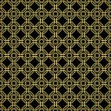 Безшовная абстрактная картина с восьмиугольниками Стоковое Изображение RF