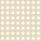 Безшовная абстрактная картина с восьмиугольниками Стоковая Фотография