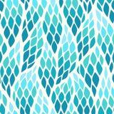Безшовная абстрактная картина с красочными косоугольниками иллюстрация вектора