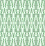 Безшовная абстрактная картина с шестиугольниками Стоковое Фото