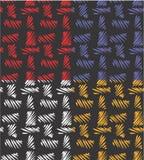 Безшовная абстрактная картина текстуры мешковины Стоковые Изображения