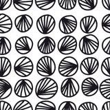 Безшовная абстрактная картина Стоковые Изображения