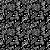 Безшовная абстрактная картина Стоковое фото RF