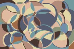 Безшовная абстрактная картина r иллюстрация вектора