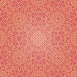 Безшовная абстрактная красная и оранжевая картина с градиентом Стоковые Изображения