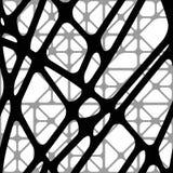 Безшовная абстрактная объемная прозрачная предпосылка Стоковое Изображение