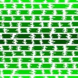 Безшовная абстрактная предпосылка в стиле плоского зеленого цвета Стоковое Изображение RF