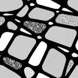 Безшовная абстрактная предпосылка геометрических форм Стоковое Изображение
