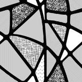 Безшовная абстрактная предпосылка геометрических форм Стоковые Фото