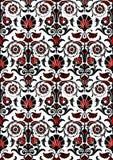 Безшовная абстрактная предпосылка года сбора винограда цветочного узора Стоковое Фото