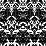 Безшовная абстрактная племенная картина (вектор) Стоковые Фотографии RF