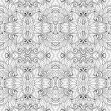 Безшовная абстрактная племенная картина (вектор) Стоковая Фотография