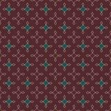Безшовная абстрактная ретро геометрическая картина Смешанные прямоугольники и звезды в вертикальном плане бесплатная иллюстрация