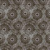 Безшовная абстрактная monochrome картина Стоковые Изображения RF