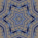 Безшовная арабская картина ornamental шнурка Стоковое Изображение RF