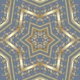 Безшовная арабская картина ornamental шнурка Стоковые Изображения RF