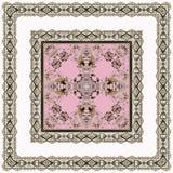 Безшовная арабская картина ornamental шнурка Стоковые Фото