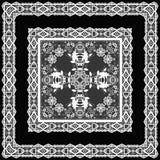 Безшовная арабская картина ornamental шнурка Стоковое Изображение