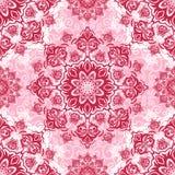 Безшовная барочная роскошная предпосылка Стоковое Фото